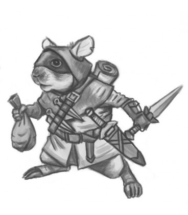 Critter Kingdoms: Hamster Thief (artwork)