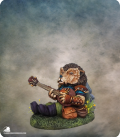 Critter Kingdoms: Hedgehog Bard with Lute