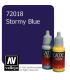 Vallejo Game Color: Acrylic Paint - Stormy Blue (17ml)