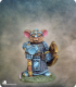 Critter Kingdoms: Mouse Cleric with Warhammer