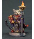 Critter Kingdoms: Archer - Grumpy Cat Warlock (painted by Rhonda Bender)