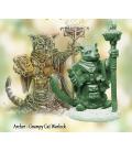Critter Kingdoms: Archer - Grumpy Cat Warlock (master sculpt by Dave Summers)
