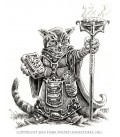 Critter Kingdoms: Archer - Grumpy Cat Warlock (artwork)