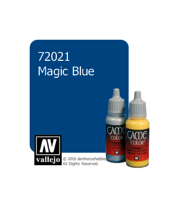 Vallejo Game Color: Acrylic Paint - Magic Blue (17ml)