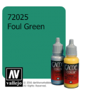 Vallejo Game Color: Acrylic Paint - Foul Green (17ml)