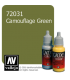 Vallejo Game Color: Acrylic Paint - Camouflage Green (17ml)