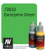 Vallejo Game Color: Acrylic Paint - Excorpena Green (17ml)