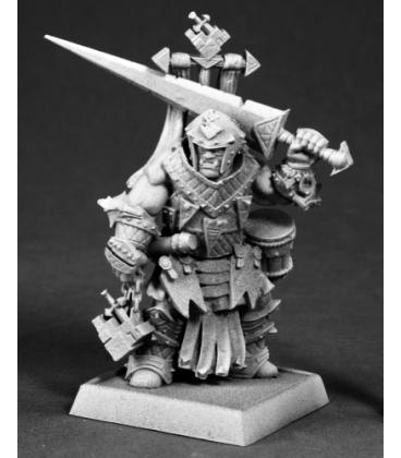 Pathfinder Miniatures: Oloch, Iconic Half-Orc Warpriest