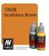 Vallejo Game Color: Acrylic Paint - Scrofulous Brown (17ml)