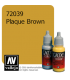 Vallejo Game Color: Acrylic Paint - Plague Brown (17ml)