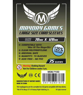 Mayday Games: Large Card Sleeves (70x120mm)