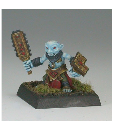 Warlord: Bloodstone Gnomes - Scragger (painted by Anne Foerster)