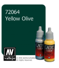 Vallejo Game Color: Acrylic Paint -Yellow Olive (17ml)