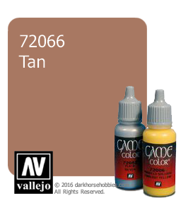 Vallejo Game Color: Acrylic Paint -Tan (17ml)