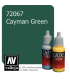 Vallejo Game Color: Acrylic Paint - Caymen Green (17ml)