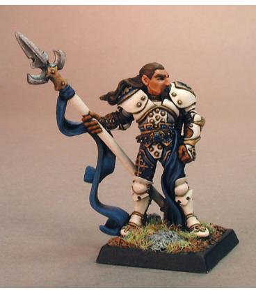 Warlord: Crusaders - Lord Ironraven, Templar Captain (painted by Alex Glocka)