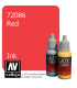 Vallejo Game Color: Acrylic Paint -Red Ink (17ml)