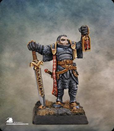 Warlord: Crusaders - Marcus Gideon, Hero (painted by Anne Foerster)
