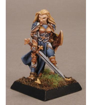 Warlord: Crusaders - Finari, Justicar Hero (painted by Anne Foerster)