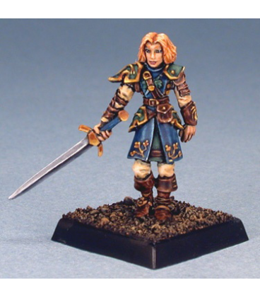 Warlord: Crusaders - Acacia, Sergeant (painted by Anne Foerster)