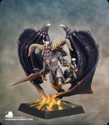 Warlord: Darkspawn - Ashakia, Demon (painted by Marike Reimer)