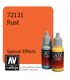 Vallejo Game Color: Acrylic Paint - SFX Rust (17ml)