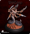 Warlord: Darkspawn - Marilith Demon (painted by Dave Morrison)