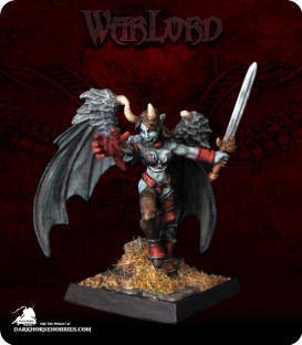 Warlord: Darkspawn - Succubus Warrior (painted by Belminiart)