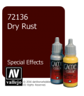 Vallejo Game Color: Acrylic Paint - SFX Dry Rust (17ml)