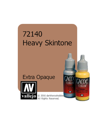 Vallejo Game Color: Acrylic Paint - Heavy Skintone (17ml)