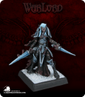 Warlord: Darkreach - Dark Elf Warrior (painted by Anne Foerster)