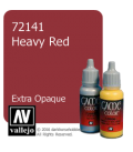 Vallejo Game Color: Acrylic Paint - Heavy Red (17ml)
