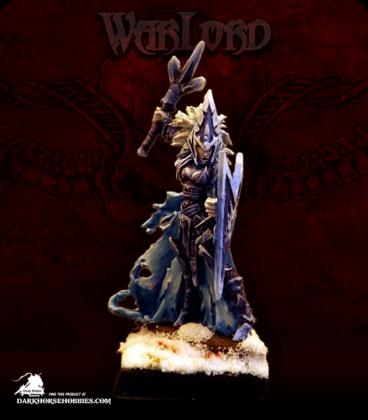 Warlord: Darkreach - Tierdeleira, Priestess (painted by Obsidian Crane)