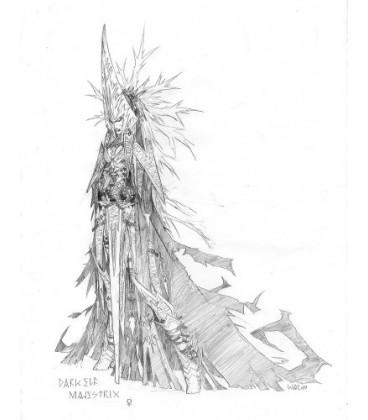 Warlord: Darkreach - Majestrix Latissula, Warlord (concept art)