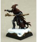 Warlord: Darkreach - Dramorion, Dark Elf Sorcerer (painted by Martin Jones)