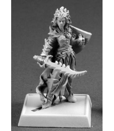 Warlord: Darkreach - Evshyvandra Duskwidow, Dark Elf Warrior