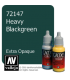 Vallejo Game Color: Acrylic Paint - Heavy Blackgreen (17ml)