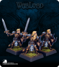 Warlord: Crusaders - Templar Justicars Adept Box Set (painted by Anne Foerster)