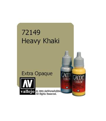 Vallejo Game Color: Acrylic Paint - Heavy Khaki (17ml)