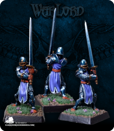 Warlord: Crusaders - Templar Unforgiven Grunt Box Set (painted by Rhonda Bender)