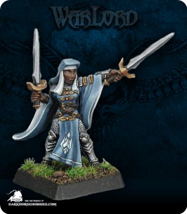 Warlord: Crusaders - Sister Majeda, Nun Sergeant (painted by Anne Foerster)