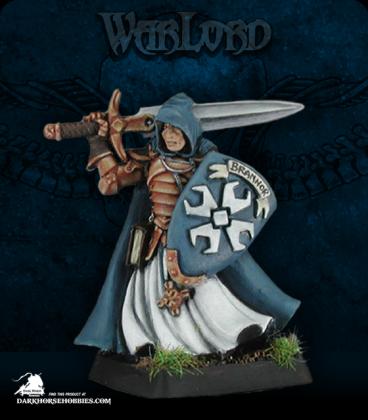 Warlord: Crusaders - Sir Brannor, Justicar Captain (painted by Anne Foerster)