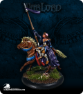 Warlord: Crusaders - Lady Devona, Mounted Mage (painted by David M. Miles)