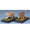 Warlord: Crusaders - War Dogs Adept Set (painted by Anne Foerster)
