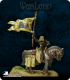Warlord: Crusaders - Lady Jehanne, Mounted Warlord