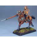 Warlord: Crusaders - Herne, Mounted Light Lancer (painted by Anne Foerster)