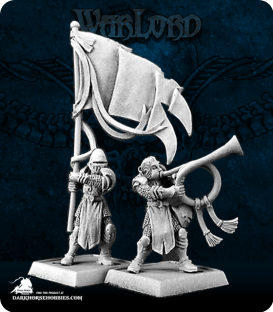 Warlord: Crusaders - Standard Bearer & Musician