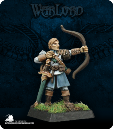 Warlord: Crusaders - Ivy Crown Archer Adept (painted by Anne Foerster)