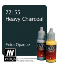 Vallejo Game Color: Acrylic Paint - Heavy Charcoal (17ml)