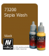 Vallejo Game Color: Acrylic Paint - Sepia Wash (17ml)